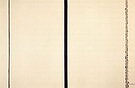 Barnett Newman Shining Forth (To George) 1961
