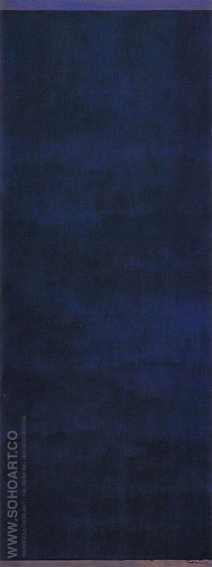 Day Before One 1951 - Barnett Newman reproduction oil painting