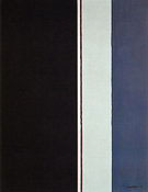 The Word II 1954 - Barnett Newman reproduction oil painting