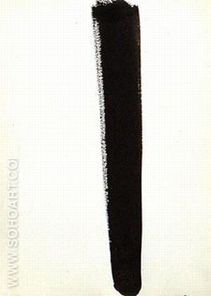 No 62 Untitled 1960 - Barnett Newman reproduction oil painting