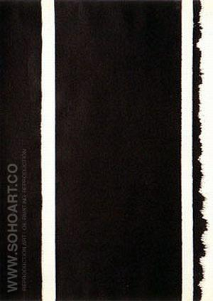 No 63 Untitled 1960 - Barnett Newman reproduction oil painting