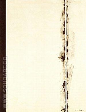 First Station 1958 - Barnett Newman reproduction oil painting