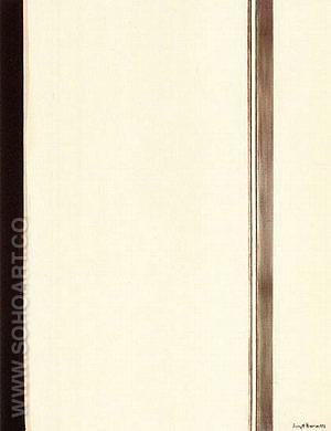 Second Station 1958 - Barnett Newman reproduction oil painting