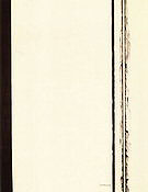 Third Station 1960 - Barnett Newman reproduction oil painting