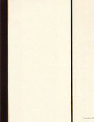 Sixth Station 1962 - Barnett Newman reproduction oil painting