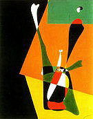 Girl Doing Physical Culture 1932 - Joan Miro
