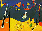Circus 1934 - Joan Miro reproduction oil painting