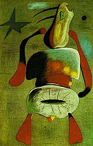 Woman 1934 - Joan Miro reproduction oil painting