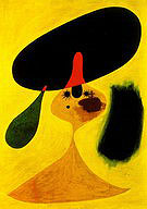 Portrait of Young Girl 1935 - Joan Miro reproduction oil painting