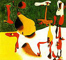 Figures in Front of a Metamorphosis 1936 - Joan Miro