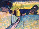 Wassily Kandinsky Reproduction oil painting of Winter Landscape 1909