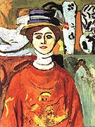 Matisse The Girl with Green Eyes 1908