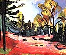 Matisse Clearing in the Woods of Fontainebleau 1909