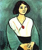 Matisse Lady in Green 1909