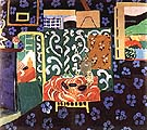 Matisse Interior with Aubergines 1911
