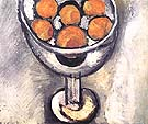 A Vase with Oranges 1916 - Matisse reproduction oil painting