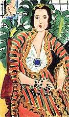 Matisse Portrait of Helene Galitzine 1937
