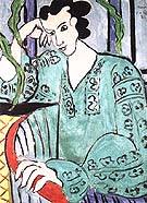 Green Rumanian Blouse 1939 - Matisse