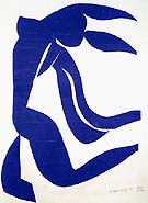 The Flowing Hair 1952 - Matisse