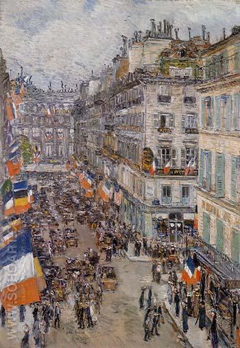 Childe Hassam reproduction paintings for sale  Rue Daunou