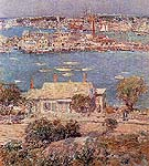 Childe Hassam Gloucester Harbor 1899