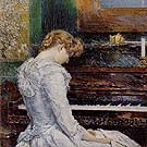 The Sonata 1893 - Childe Hassam