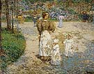 Spring in Cantral Park Springtim 1898 - Childe Hassam