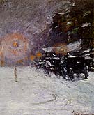 Winter Midnight 1894 - Childe Hassam