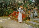 After Breakfast 1887 - Childe Hassam