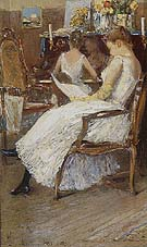 Mrs Hassam and Her Sister 1889 - Childe Hassam