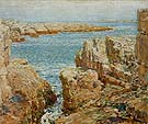 Childe Hassam Coast Scene Isles of Shoals 1901