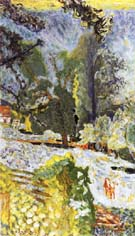 Normandy Landscape 1920 - Pierre Bonnard