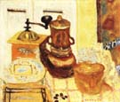 Pierre Bonnard The Coffee Grinder