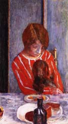 Pierre Bonnard Woman with Dog 1922