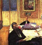 Josse Bernheim-Jeune and Gaston - Pierre Bonnard