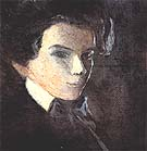 Self-Portrait, Facing Right 1904 - Egon Scheile