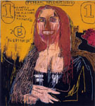 Mona Lisa - Jean-Michel-Basquiat