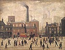 Coming Home from the Mill 1928 - L-S-Lowry