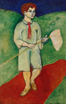 Boy with Butterfly Net 1907 - Matisse