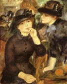 Girls in Black 1880 - Pierre Auguste Renoir
