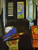 Interior with Violin 1917 - Matisse