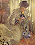 Frederick Carl Frieseke The Yellow Tulip 1902