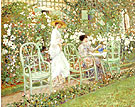 Lilies 1911 - Frederick Carl Frieseke reproduction oil painting