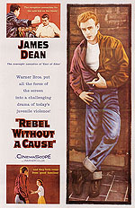 Classic-Movie-Posters REBEL WITHOUT A CAUSE, NICHOLAS RAY, 1955