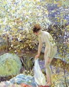 Cherry Blossoms c 1913 - Frederick Carl Frieseke