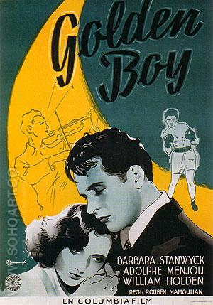 Golden Boy, 1939 - Sporting-Movie-Posters reproduction oil painting