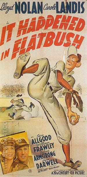 It Happened In Flatbush, 1942 - Sporting-Movie-Posters reproduction oil painting