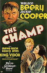 THE CHAMP, 1931 - Sporting-Movie-Posters