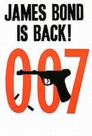 James Bond Is Back - James-Bond-007-Posters