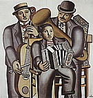 Fernand Leger Three Musicians 1930
